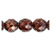 Fire Polished 10mm Crystal/Lilac Marble
